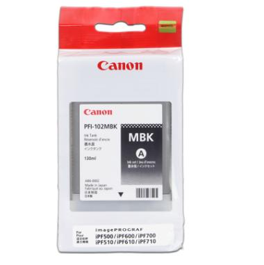 Cartridge PFI-102MBK 130ml