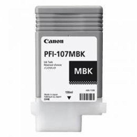 Cartridge PFI-107MBK 130ml